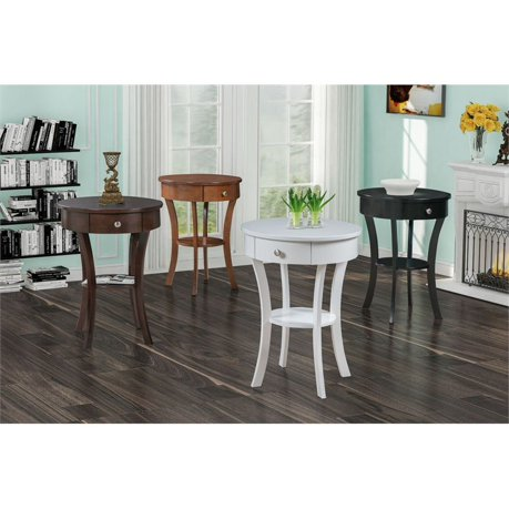 Convenience concepts classic accents schaffer end table in for Classic concepts furniture california