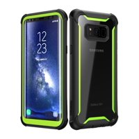 Samsung Galaxy S8 case, i-Blason [Ares] Full-body Rugged Clear Bumper Case With Built-in Screen Protector for Samsung Galaxy S8 2017 Release