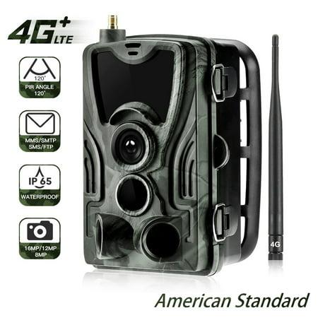 4G Trail Camera Wildlife Hunting Surveillance Cameras 16MP 0.3S Trigger Infrared with Antenna Hunting Wild Camera thumbnail