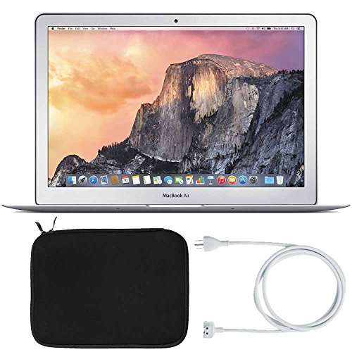 "Apple 13.3"" MacBook Air Laptop Computer (MMGG2LL/A) + Laptop Sleeve + Power Adapter Extension Cable"