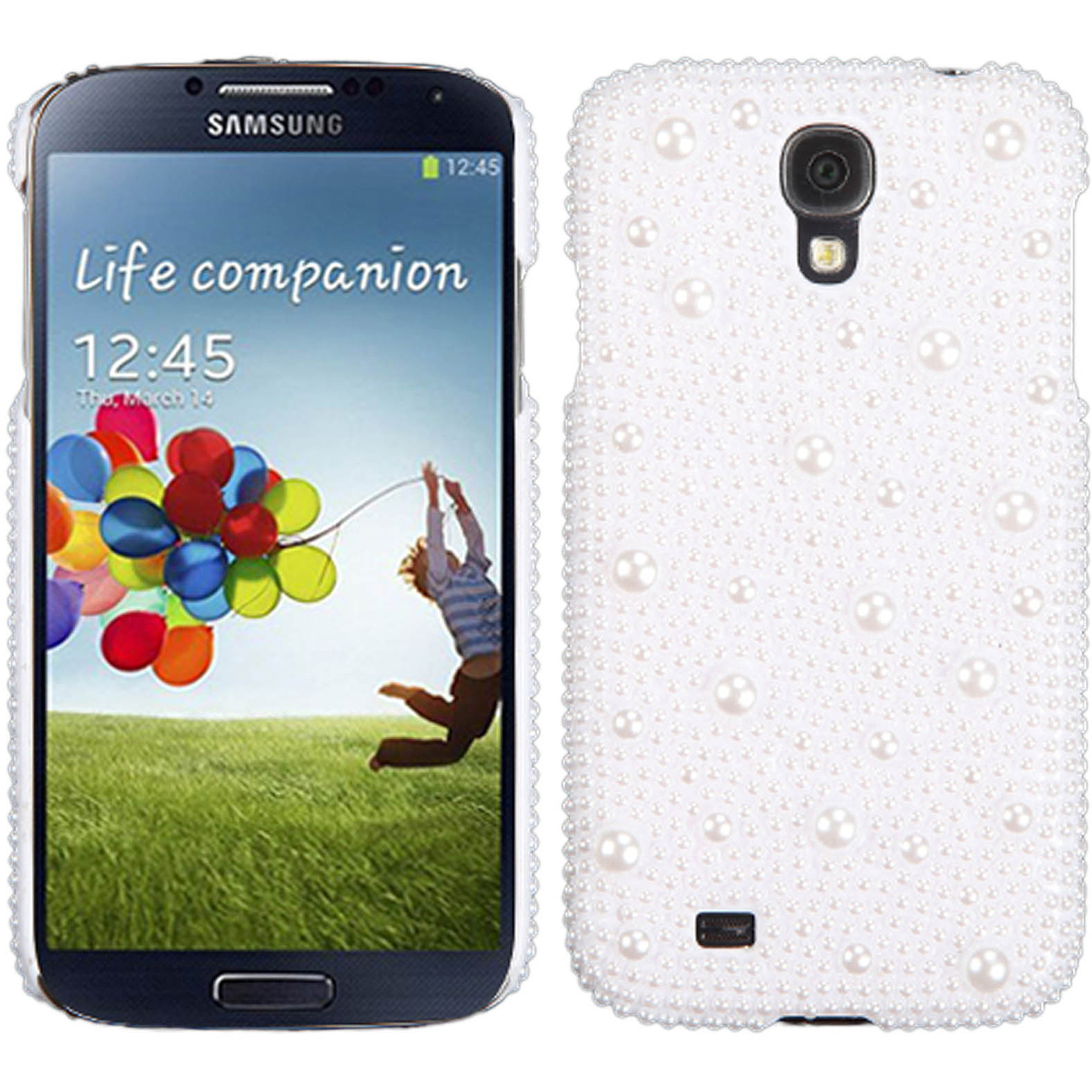KTA Galaxy S4 Bling Rhinestone Cover with Pearls