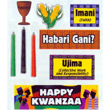 Kwanzaa Mini Bulletin Board (Center Signs Mini Bulletin Board)