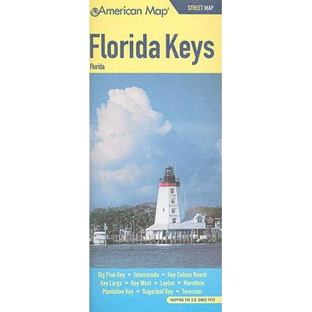 Florida Keys Street Map Pine Key Orada Colony Beach
