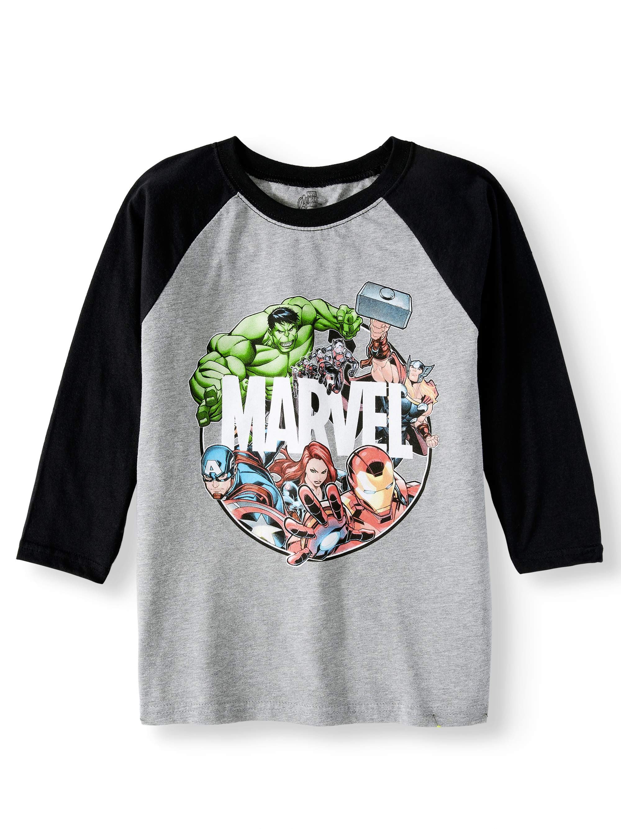 Long Sleeve Raglan Graphic Tee (Little Boys & Big Boys)