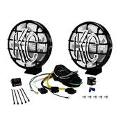 KC HiLiTES Apollo Pro Bright Vehicle Halogen Pair Driving Light System, 6-Inch