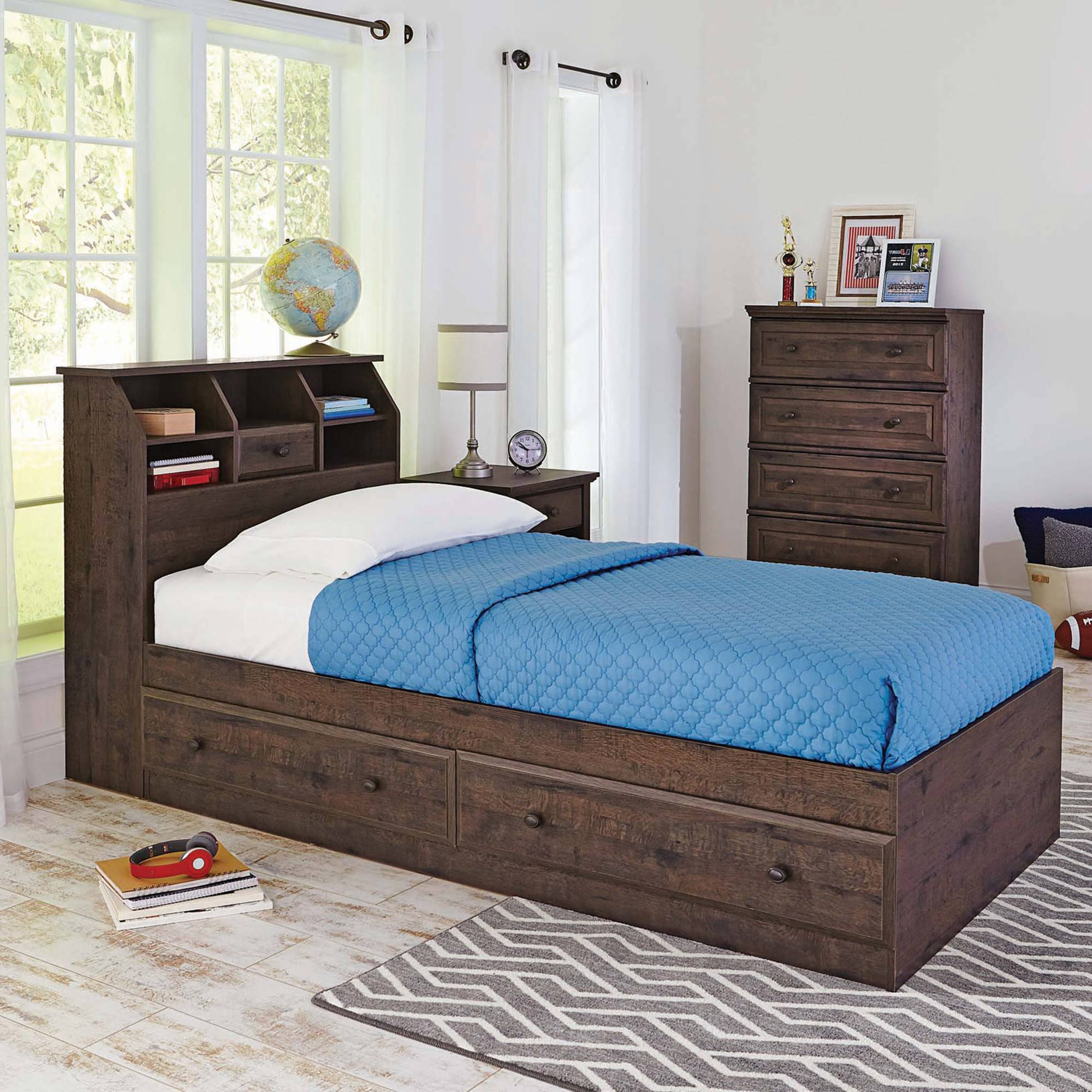 Better Homes And Gardens Crossmill Twin Bookcase Headboard Multiple