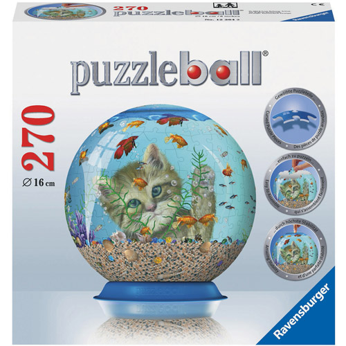 Ravensburger Kitty Entertainment Puzzleball, 270 Pieces