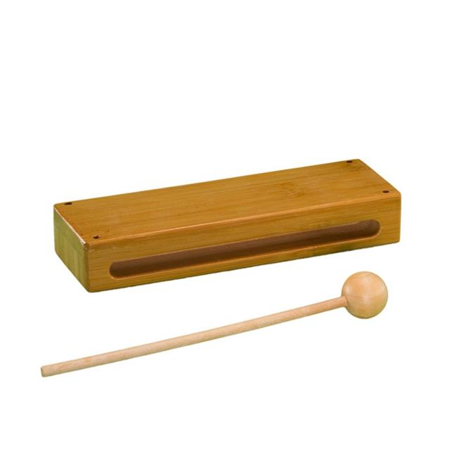Rhythm Band Instruments RBN125 Bamboo Wood Block with Mallet - image 1 of 1
