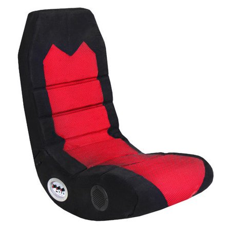 lumisource boomchair edge gaming chair in red and black walmart com
