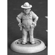 Reaper Miniatures Joe Don Mitchell, Sheriff #50256 Chronoscope RPG Mini Figure
