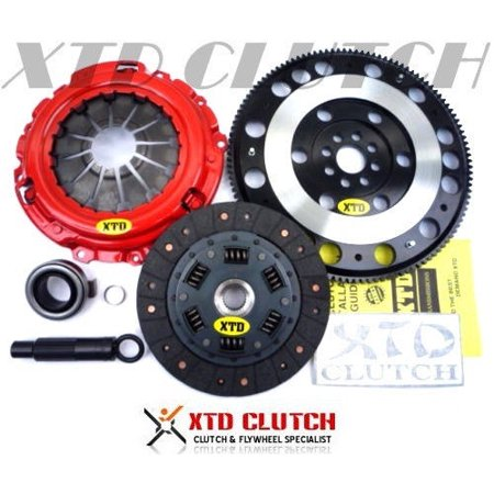 Pickup Clutch Flywheel - XTD STAGE 2 CLUTCH & X-LITE FLYWHEEL KIT RSX TYPE-S BASE & CIVIC Si 2.0L K20 K24