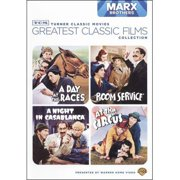 TCM Greatest Classic Films Collection: Marx Brothers A Day At The Races   A Night In Casablanca   Room Service   At The... by WARNER HOME ENTERTAINMENT