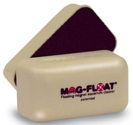 Gulfstream Tropical Aquarium Mag Float 25A Magnetic Floating Aquarium Cleaner For 10 gal Tank, Mini by Gulfstream Tropical Aquarium