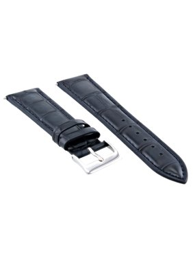 27f7d1abf38 Product Image 18MM NEW LEATHER WATCH STRAP BAND FOR IWC WATCH DARK BLUE