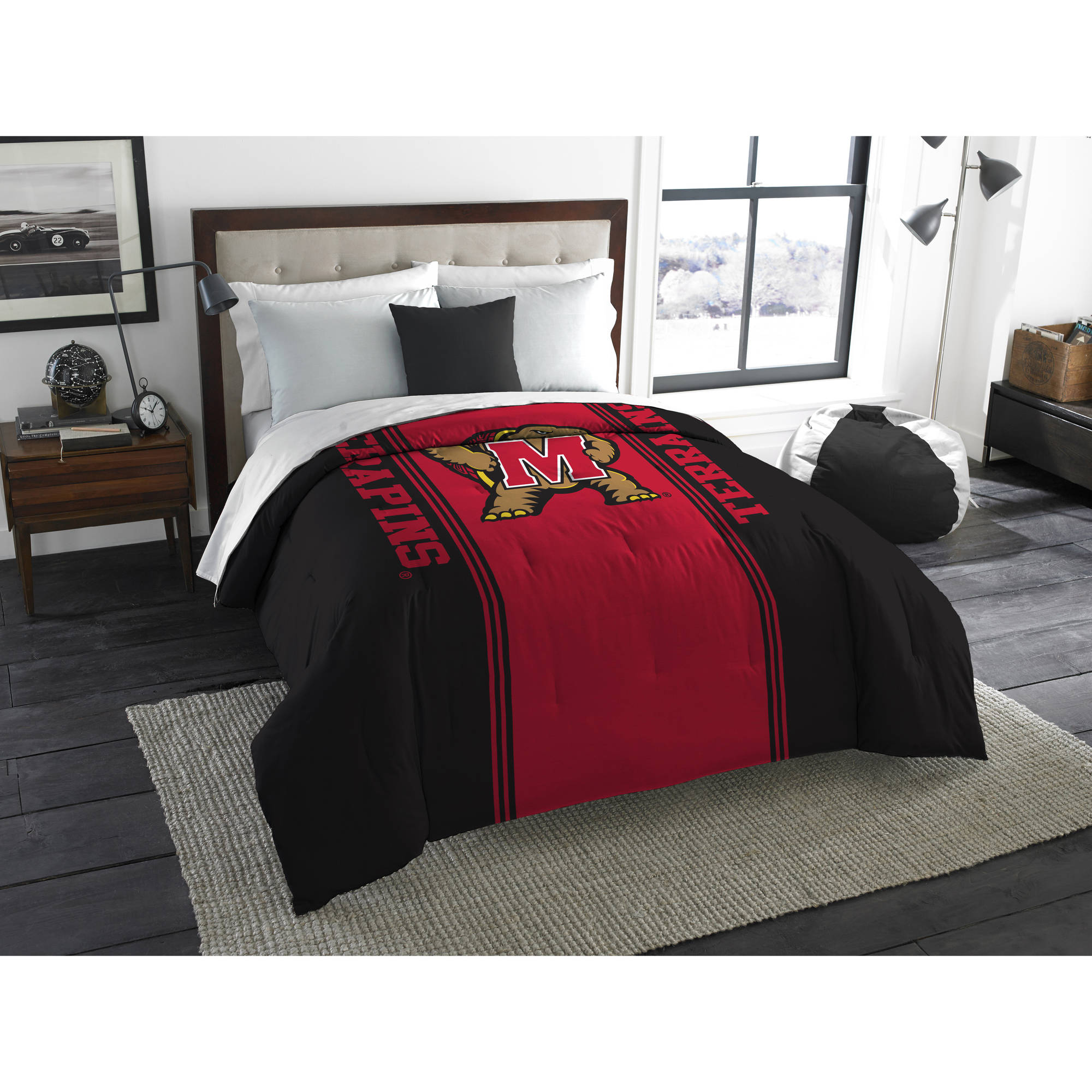 "NCAA Maryland Terrapins ""Mascot"" Twin/Full Bedding Comforter"