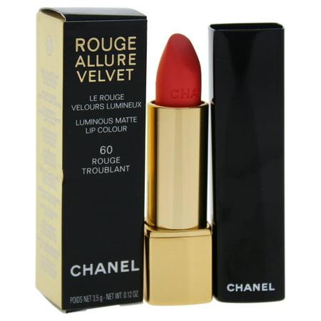Chanel Rouge Allure Velvet Luminous Matte Lip Colour - # 60 Rouge Troublant 0.12 oz Lipstick