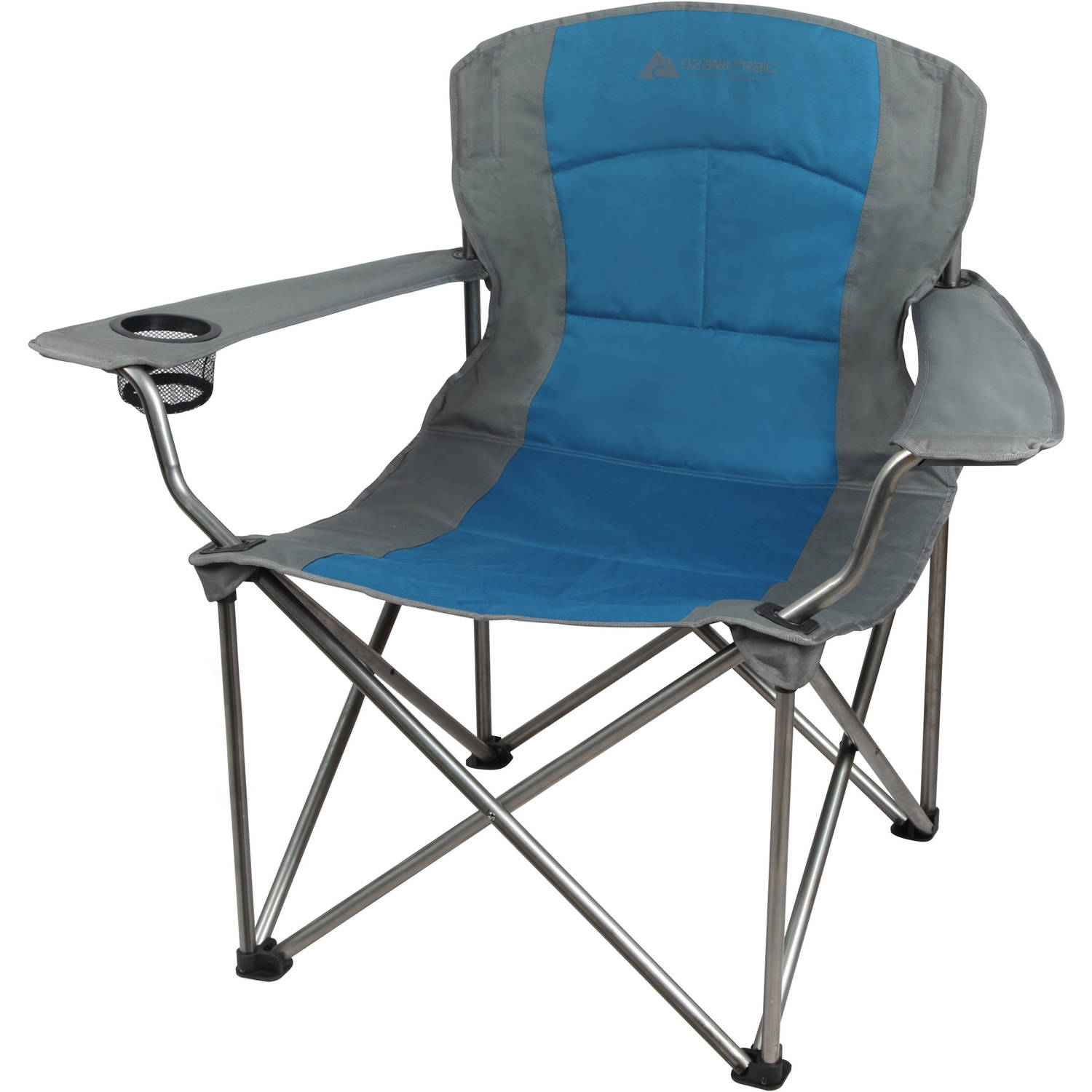 Ozark Trail Oversized Big Boy Quad Chair, Blue