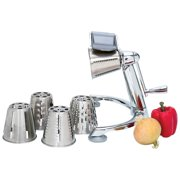Maxam KTVC7 Vegetable Cutter with 5 Attachments