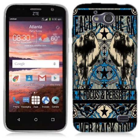 Mundaze Reach For The Sky Phone Case Cover For Zte Maven Fanfare Overture 2