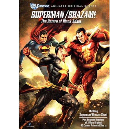 Superman/Shazam: The Return of Black Adam (DVD)