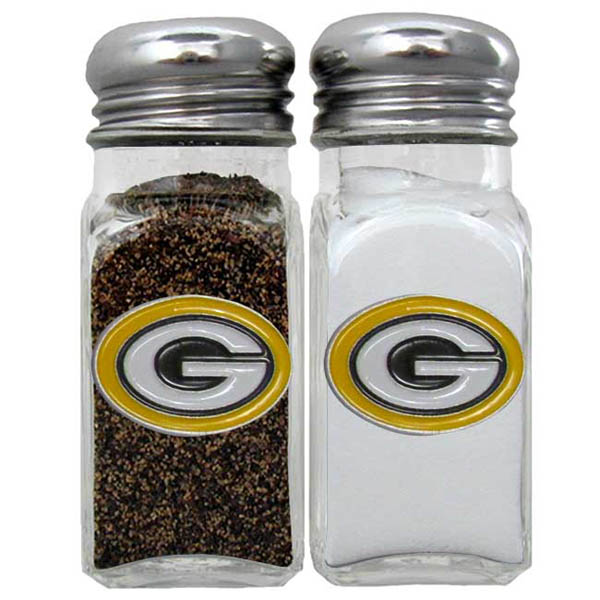 Siskiyou Gifts NFL 2 Piece Salt and Pepper Shaker Set FSHK NFL Team: Green Bay Packers