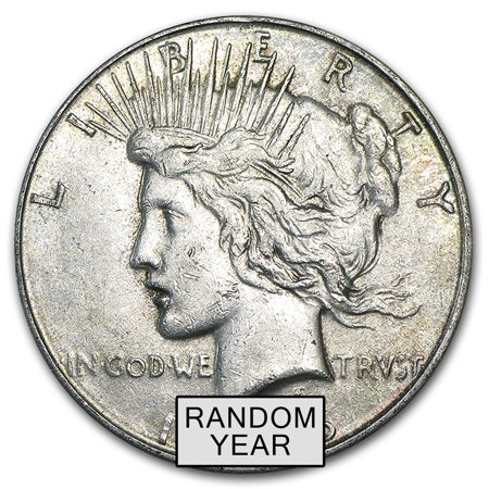 1922-1935 Peace Silver Dollars VG-XF - Peace Dollars Commemorative Coins