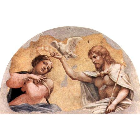 Framed Art for Your Wall Correggio - Vault fresco in Parma 10 x 13 Frame