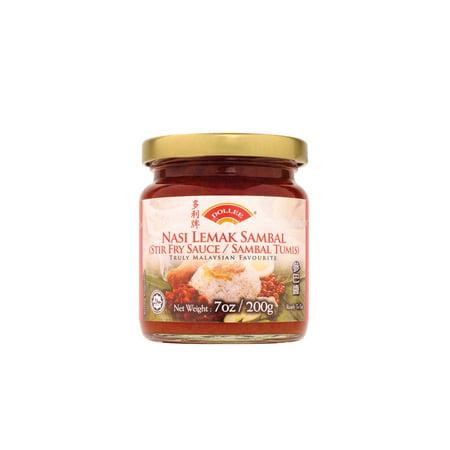 Dollee Nasi Lemak Sambal (Stir Fry Sauce/Sambal Tumis) 200g