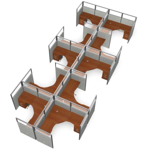 OFM X5 Workstation Panel System 2x5 Configuration