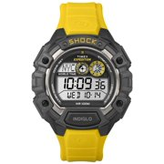 Mens T499749J Expedition Digital Display Watch with Yellow Resin Band Yellow