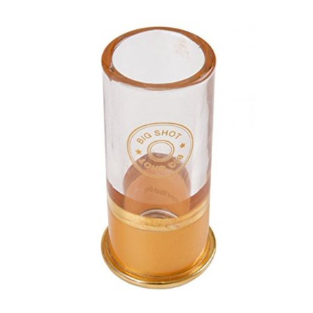 big shot 12 gauge shotgun shell shot glass. Black Bedroom Furniture Sets. Home Design Ideas