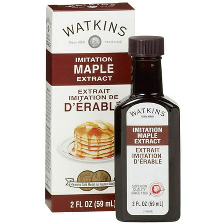 Watkins Imitation Maple Extract  2 Fl Oz