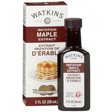 (3 Pack) Watkins Imitation Maple Extract, 2 fl oz (Maple Flavoring)