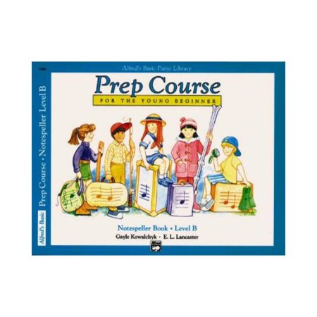 Alfreds Basic Piano Library Prep Course For The Young Beginner: Notespeller Book Level B by