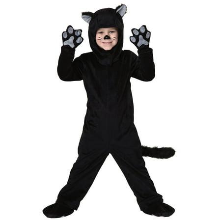 Toddler Little Black Cat Costume - image 2 de 2