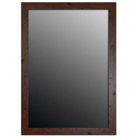 Hitchcock Butterfield 8077000 Walnut Brown Aidan Classic Wall Mirror - 15.75 x 33.75 in. - image 1 de 1