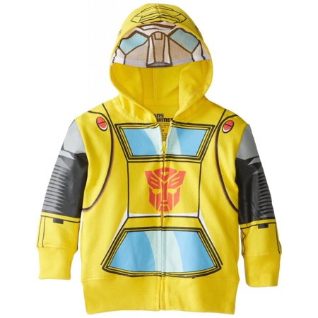 Transformers Little Boys' Bumblebee Costume Hoody