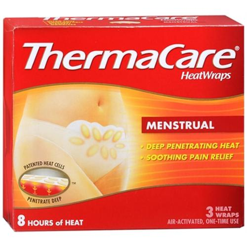 ThermaCare Heatwraps Menstrual Patches 3 Each (Pack of 3)