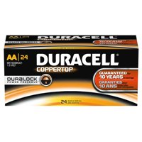 Duracell DMN1500BKD Coppertop Aa Battery, Bulk (Package Of 24)