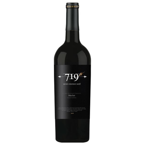 Image of 719 West Merlot Wine, 750 mL