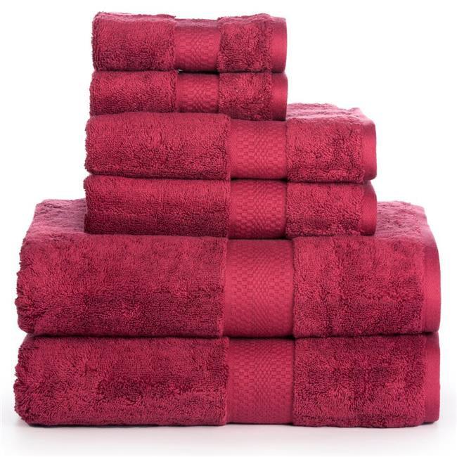 Affinity Linens AERO2PCTWL-GLD 33 x 66 in. AeroSoft Premium Combed Cotton 710 GSM Bath Towel Set - Gold, 6 Piece
