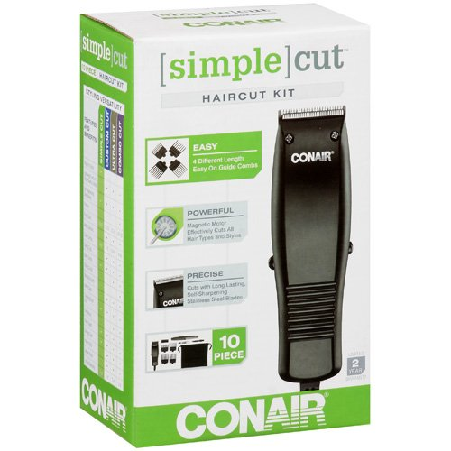 Conair Simple Cut 10 Piece Haircut Kit