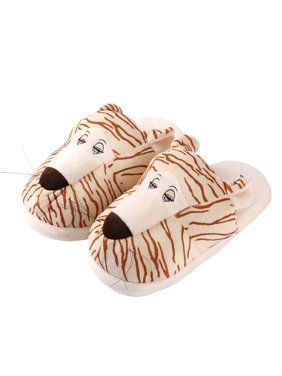 5dd2cff1b7e8 Product Image Kid s Plush Cartoon Animal Cozy House Slippers for Indoors  (Tiger)