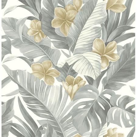 NuWallpaper Neutral Paradise Peel & Stick Wallpaper