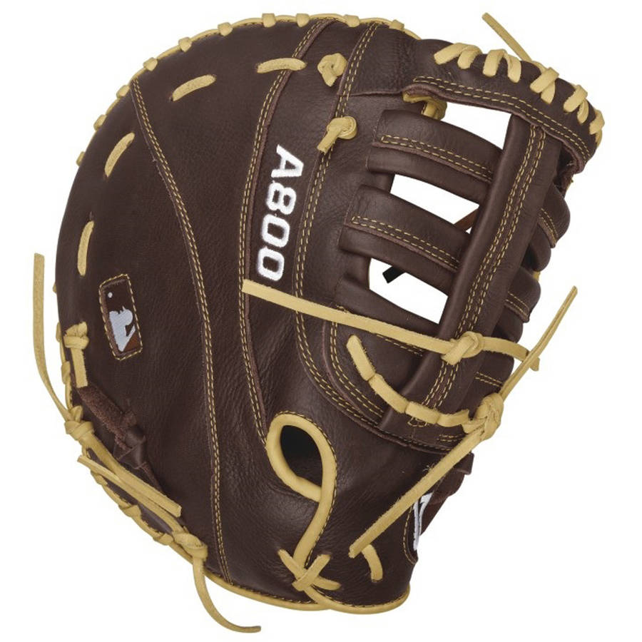 "Wilson Showtime A800 1st Base Baseball Mitt, Right-Handed Throw, 12"" by Wilson Sports"