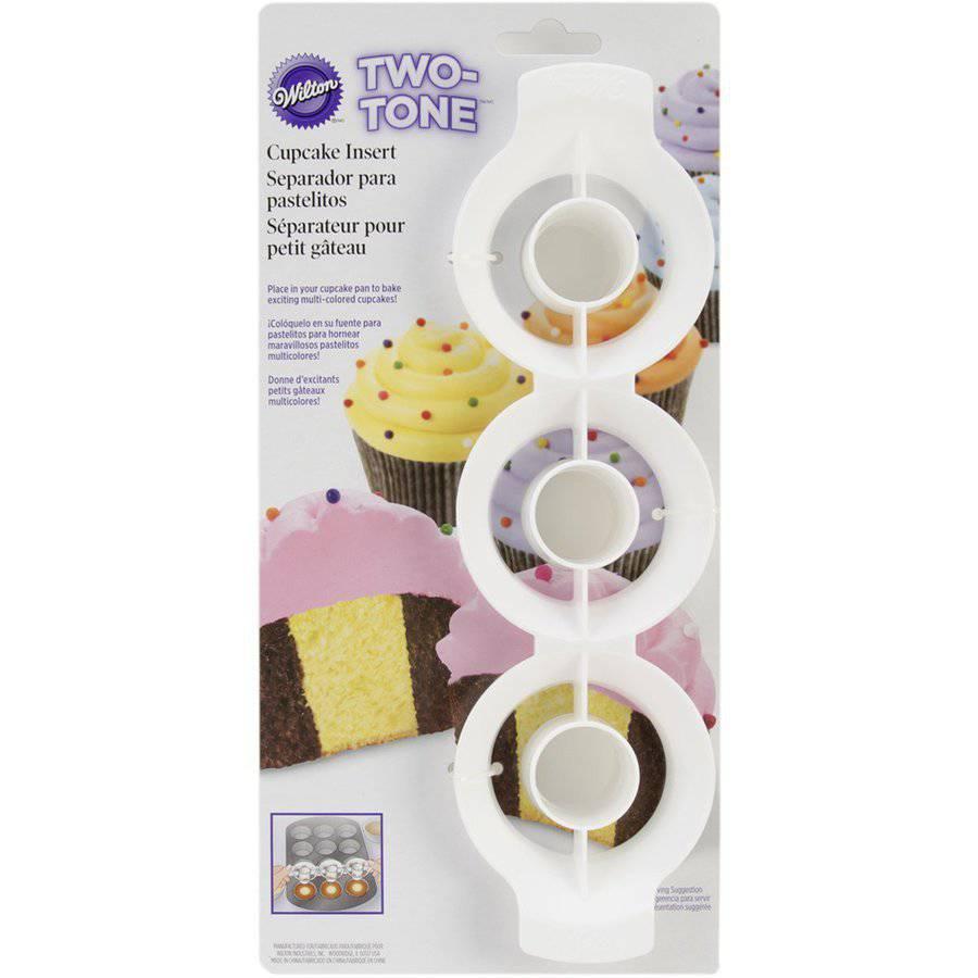Wilton 3-Cavity Two Tone Cupcake Insert 2105-0169