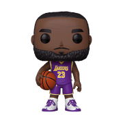 "Funko POP! NBA: Lakers - 10"" LeBron James (Purple Jersey)"