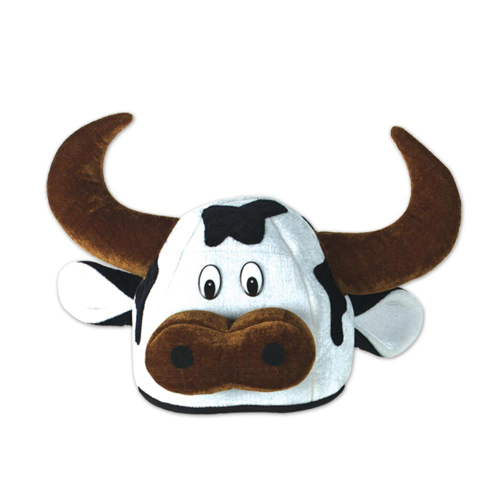 Beistle (12ct) Cow Head-Hat