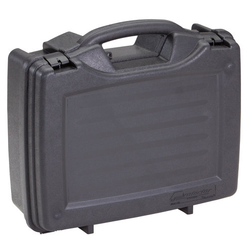 Plano Four Pistol Carrying Case Protector Series, Black