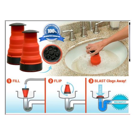 Sewer Cleaner Clog Cannon Strong Pipeline Dredger Clog Cannon Toilet Suction - image 1 de 7